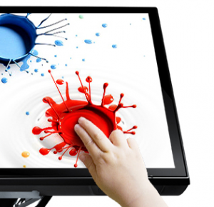 Coated Touchscreen